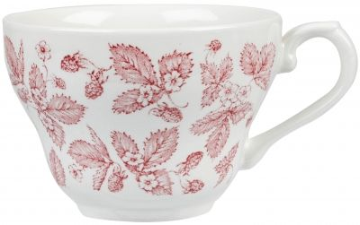 Vintage Prints Georgian Cranberry Bramble Teacup