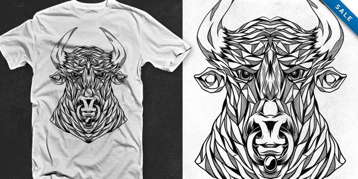 Bull's Get Mad - T-shirt design by jipanji - Mintees