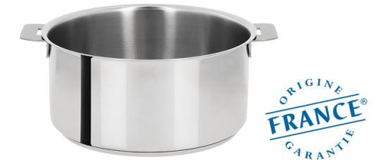 Les casseroles Cristel sont fabriquées en France et labellisées Origine France Garantie