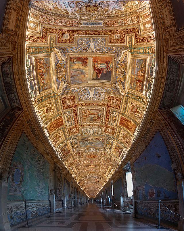 Galleria delle Carte Geografiche.   Follow me on Instagram M…   Flickr