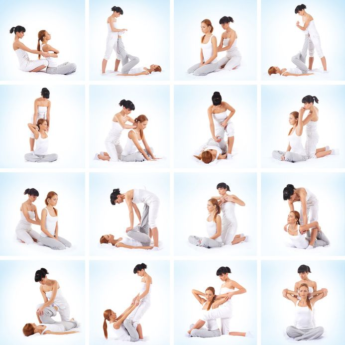 Collection- Thai Yoga Massage Stretches