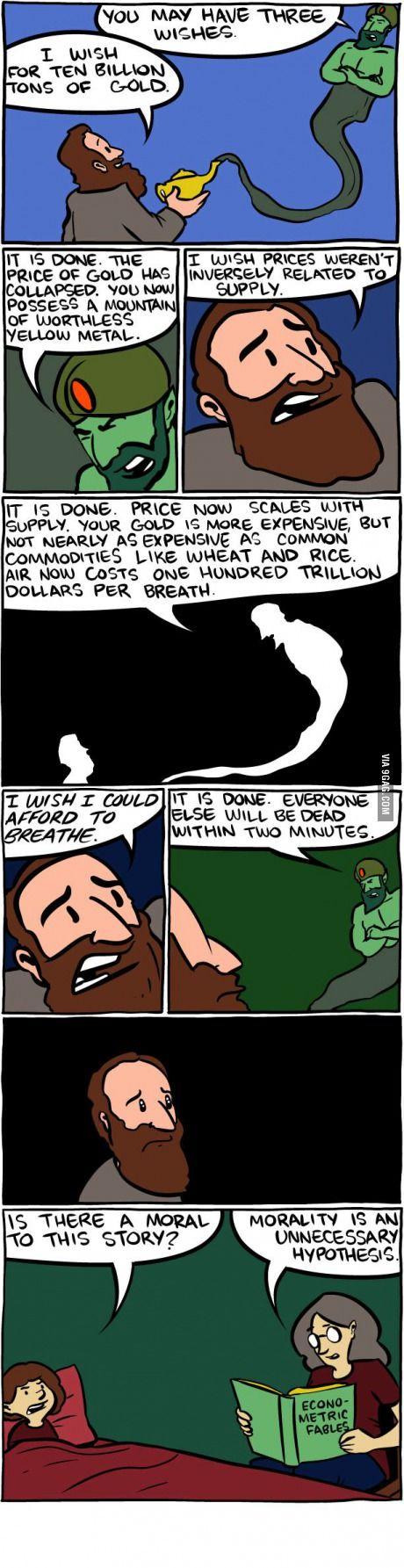 Economics humor. I love this so much!