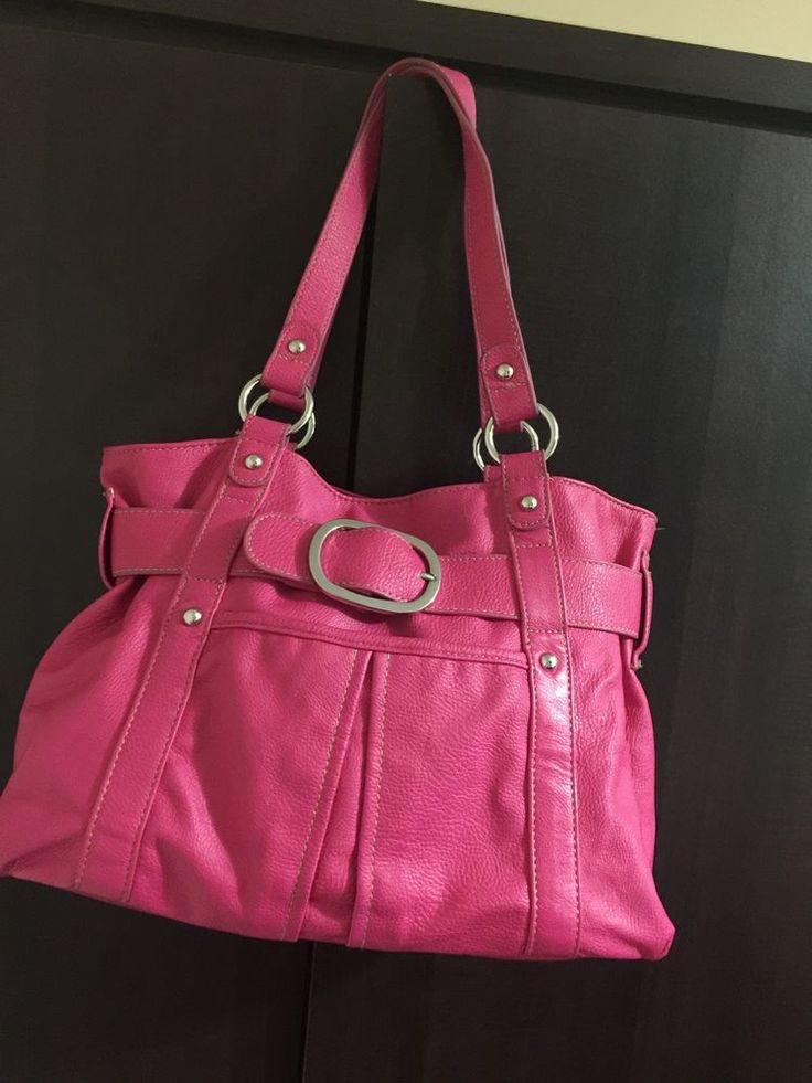 Debenhams Collection Ladies Handbag Fushia Pink  | eBay