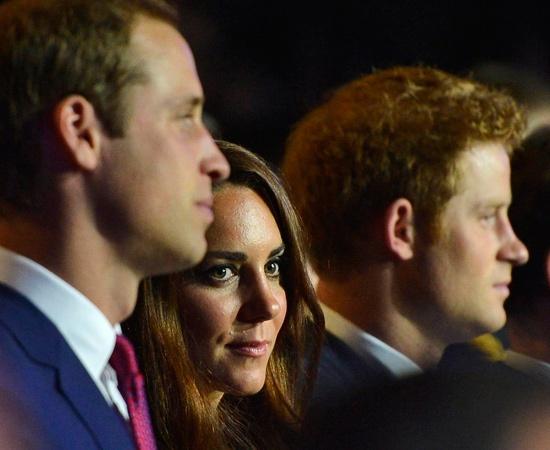 Kate e William in prima fila alla cerimonia