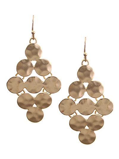 Kelly Brett Boutique - Multi Circle Earrings Matte Gold, $10.00 (https://www.kellybrettboutique.com/multi-circle-earrings-matte-gold/)