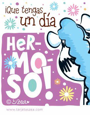 Tarjeta día de la madre para todos los días-Cebra Ele sonriendo © ZEA www.tarjetaszea.com
