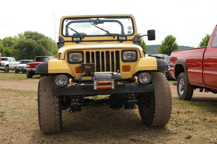 Jeep Wrangler - YJ with Mile Marker Winch   by geepstir