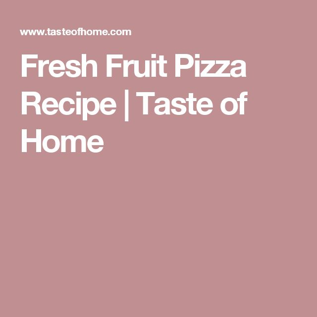 healthy fruit pizza recipe easy fruit that starts with d
