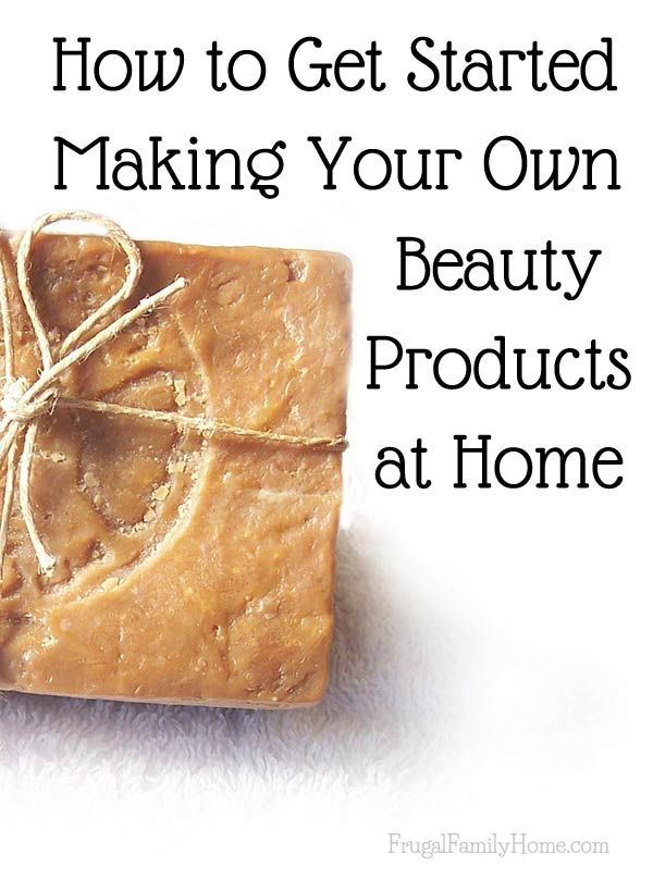 Lots of beauty and health products can be made at home with things you already have. But knowing how to get started can be challenging. My friend Sandra shared her top 5 tips for getting started making your own beauty products.