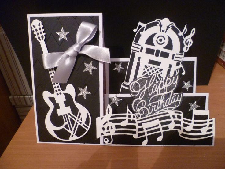 Made by Sandra Murphy - Put a little Music in your life - made with the gawjess Rocco Music Dies