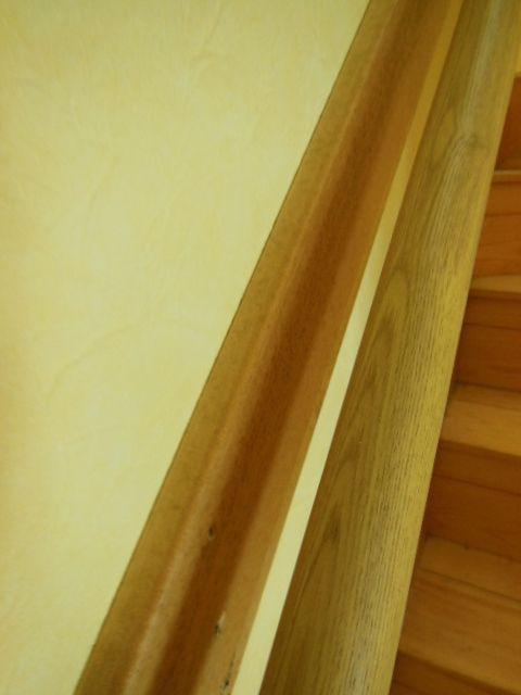 我が家の階段の手摺! | *安東英子の素敵な暮らしの扉*片付け~収納 ... 私が落ちそうになったら…ガバッ!!!! と この手摺に掴まり…