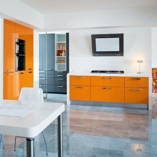 Five No Fail Palettes For Colorful Kitchens: 34 Best A Splash Of Orange Images On Pinterest
