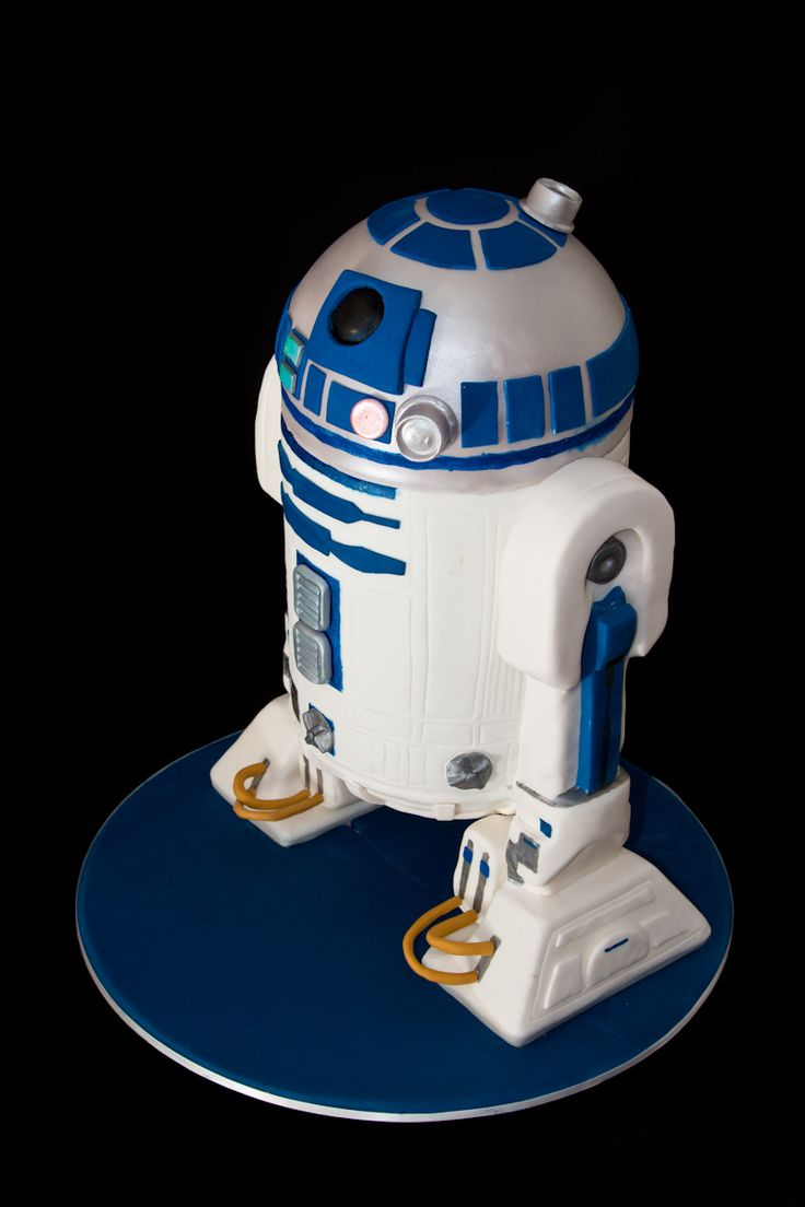 how to get a r2d2 cake to scale