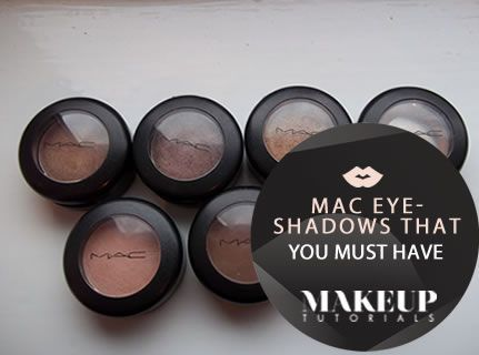 Must Have MAC Eyeshadows - These are your 15 must have MAC Eyeshadows from a mac texture eyeshadow, mac glitter eyeshadow and mac cork eyeshadow that will surely add glam to your eyes in all occasion needs