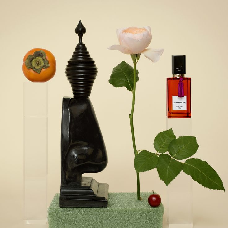 The Stories Behind Inez van Lamsweerde's Photographs of Diana Vreeland's Fragrance Collection Photos | W Magazine