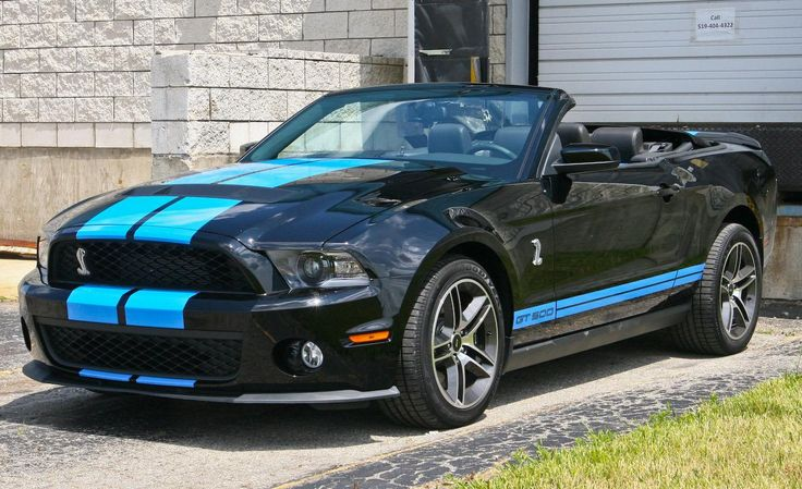 2010 Mustang | 2010 Ford Mustang Shelby GT500 convertible photo