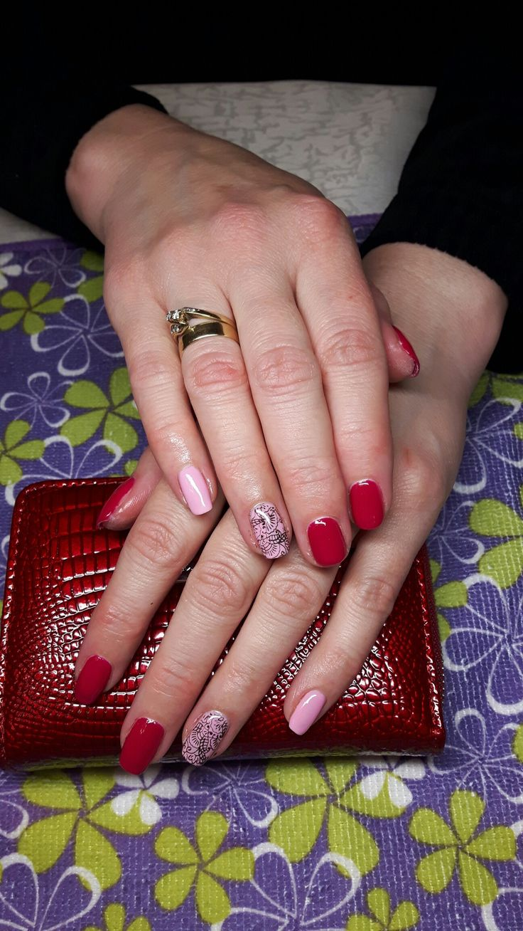 Semilac szeherezada and sweet pink