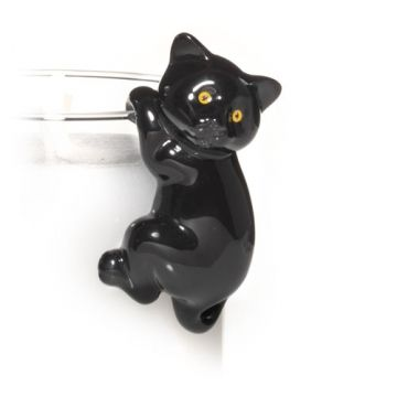 Add this Black Cat Accessory Jar Candle Clinger to your jar candles!