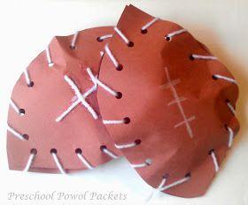 Preschool Powol Packets: Sports Theme Preschool Lesson