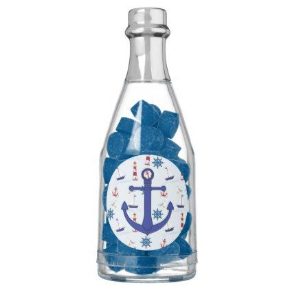 Nautical Oceanic Anchors and Lighthouses Favors Chewing Gum - decor gifts diy home & living cyo giftidea
