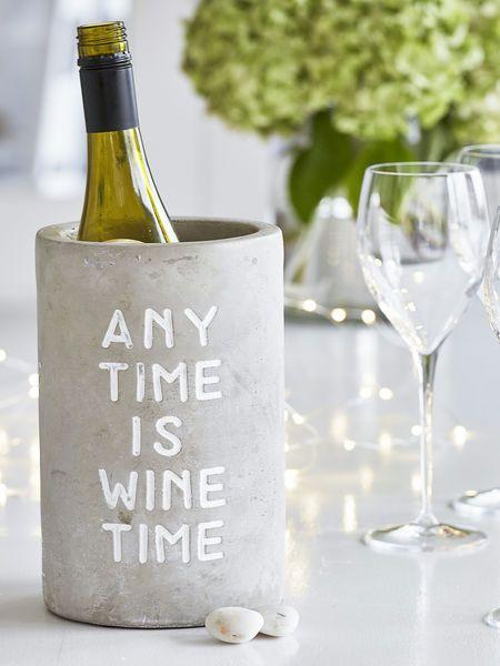 Best 25 wine coolers ideas on pinterest wine fridge for Concrete wine cooler