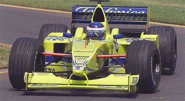 2000 Minardi M02 - Fondmetal (Gaston Mazzacane)