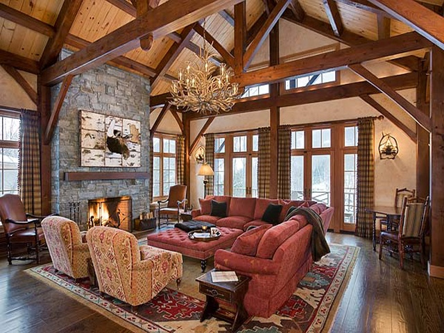 Beautiful Warm And Campy Timber Frame Home