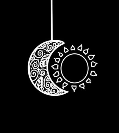 Sol y luna indicado