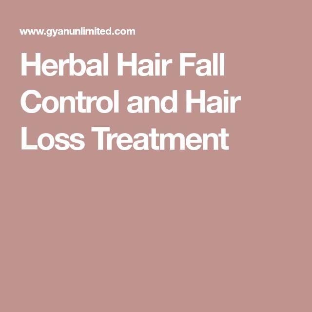 Herbal Hair Fall Control and Hair Loss Treatment