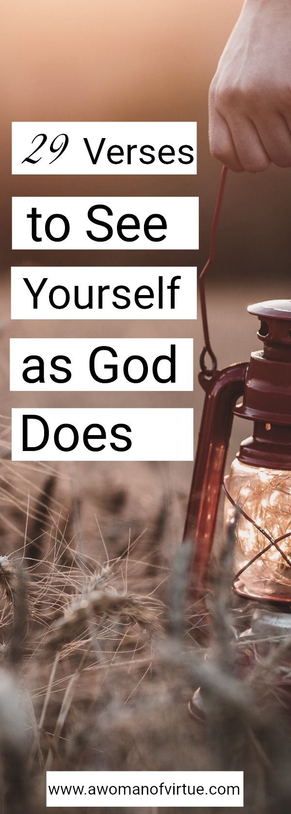 As a woman who has been saved since I was just a young girl, one might think that I of all people ought to know what God thinks of me. Truth is—I should. But I don't.