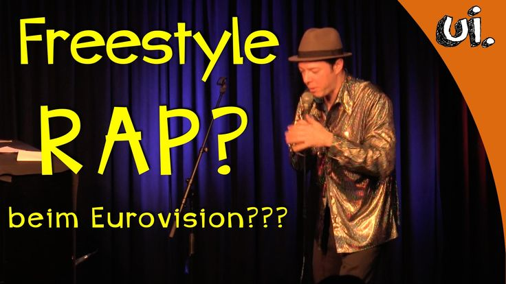 FREESTYLE RAP beim EUROVISION Song Contest 2016!