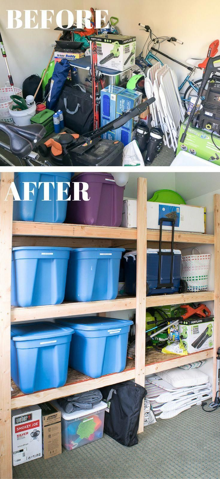 Does your shed or garage look like a disaster area these storage
