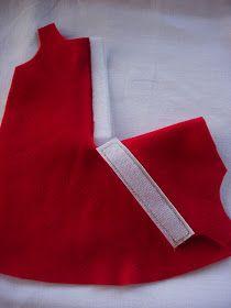 Dato che molte hanno apprezzato il vestito di Giordana, ho deciso di fare un mini tutorial sulla sua realizzazione.       Il vestito è in f...