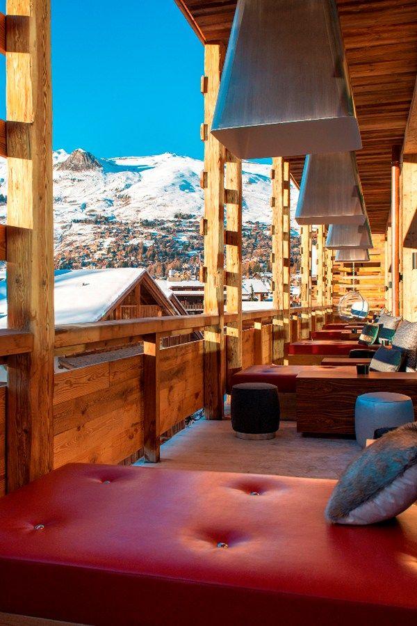 Top 10 luxury ski honeymoons - W Hotel, Verbier, Switzerland