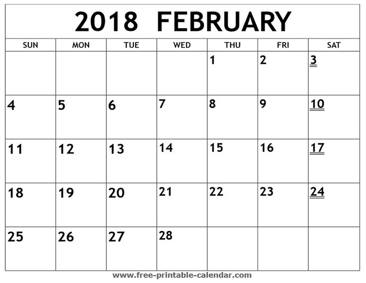 January Calendar Girl Pdf : Printable february calendar print