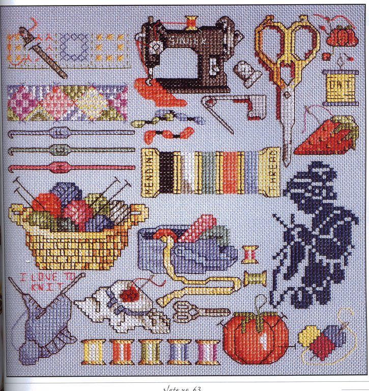 Ayuda con gráfico motivos de costura | Aprender manualidades es facilisimo.com
