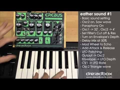 #Dreadbox effects & synthesizers – #erebus