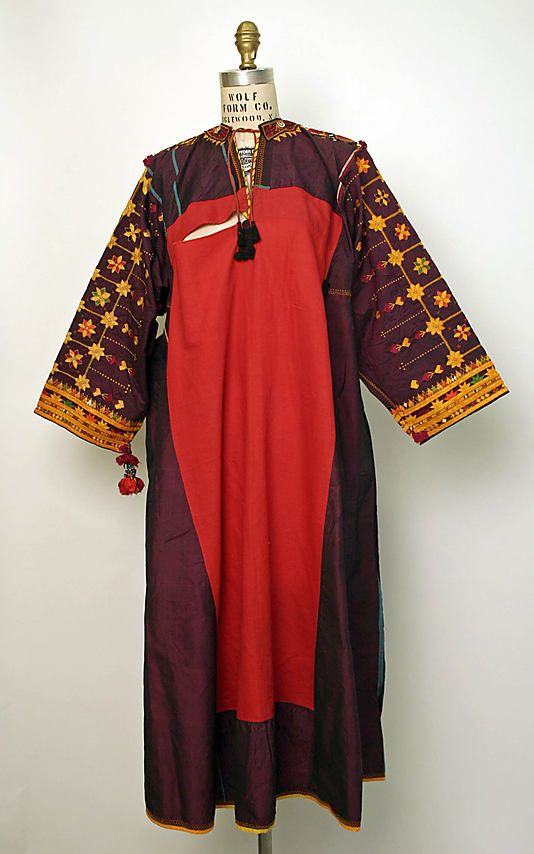 Dress. 20th Century. Middle Eastern
