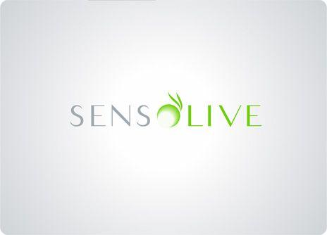 SENSOLIVE: Diseño de identidad corporativa para empresa de productos cosmeticos hechos con aceite de oliva.