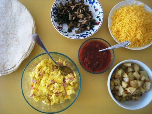 Breakfast Burrito Bar