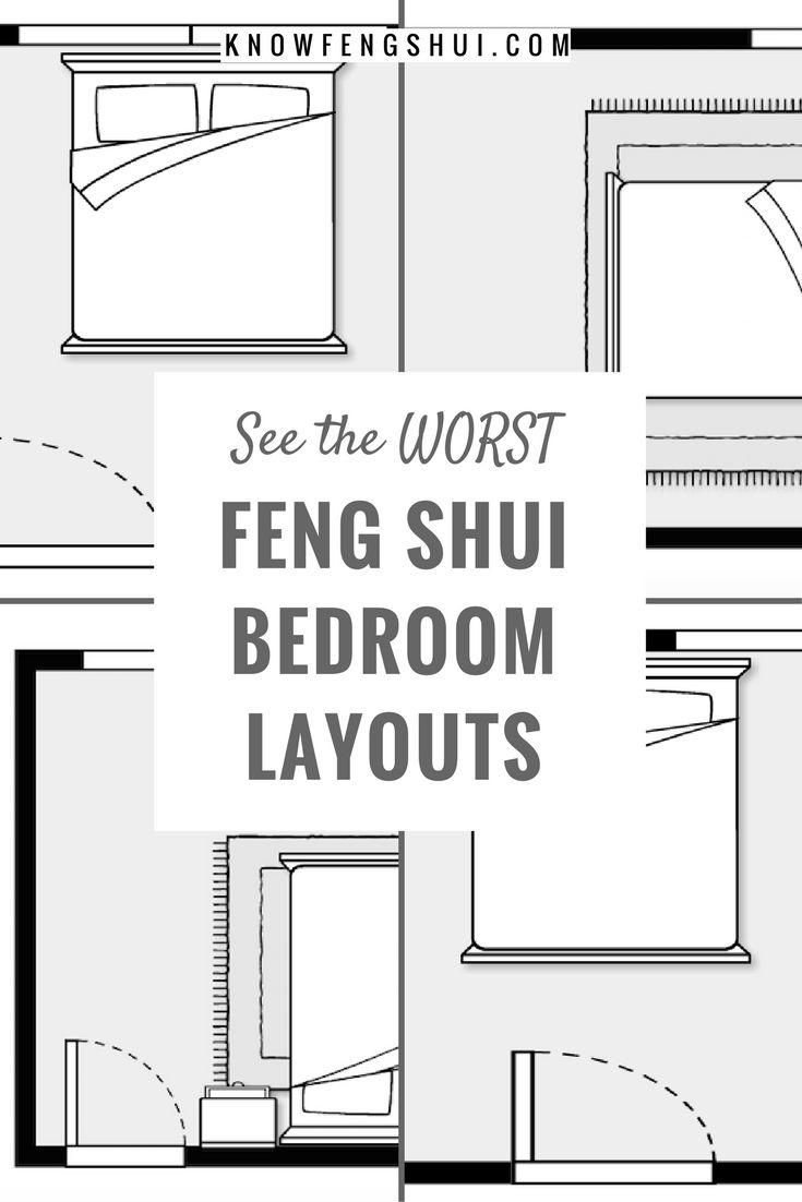 25 best feng shui bedroom layout ideas on pinterest Bedroom furniture layout plan