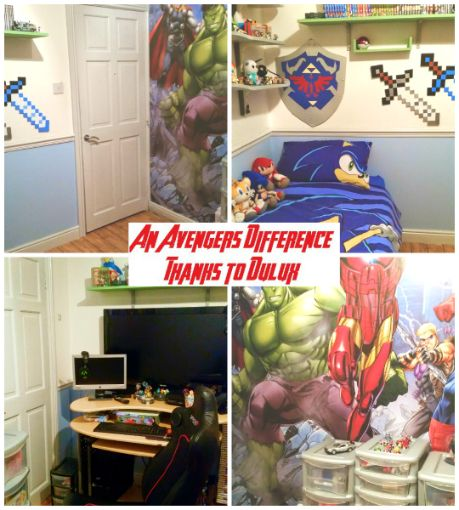 Awesome Avengers Dulux Bedroom In A Box   The Difference2