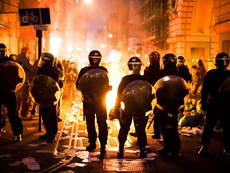 London kicks off in the great chav intifada of 2011.