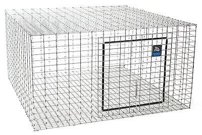 (6) PACK PET LODGE 24X24 WIRE RABBIT CAGES FOR MEAT / PET BUNNY INDOOR OUTDOOR