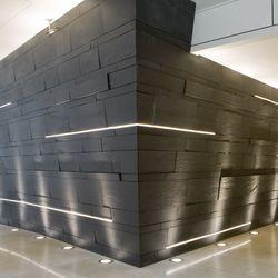 Recessed Led Light Strips Between Precast Concrete Led