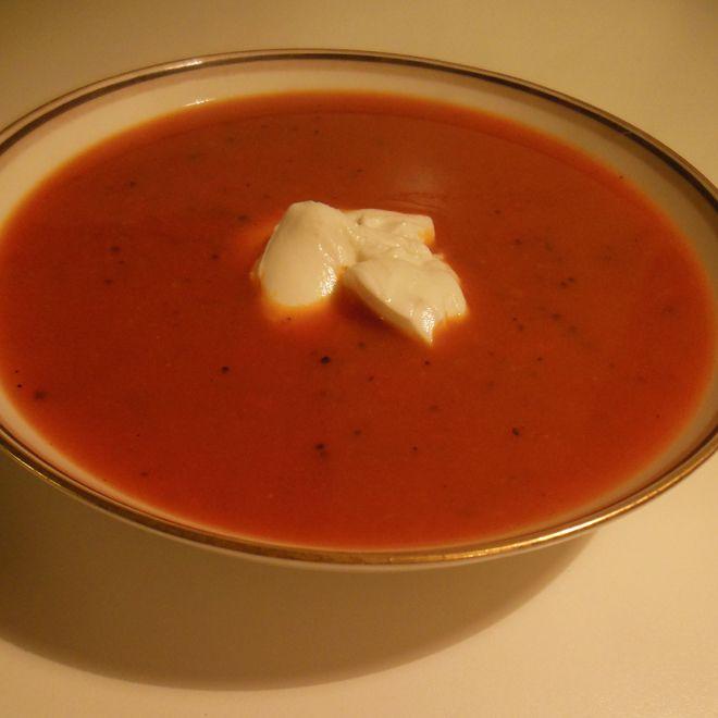 Opskrift på skøn, spicy suppe, med kun 21 kalorier pr. 100g