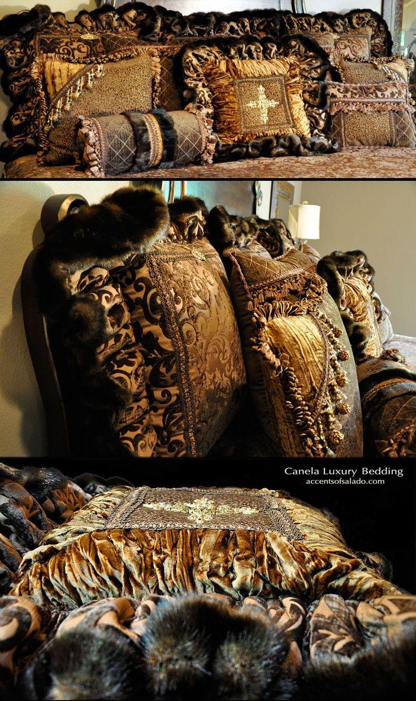 Luxury Bedding High-End Luxury Old World Bedding Sets