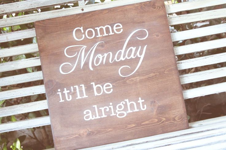Jimmy Buffet wall art - Come Monday it'll be alright by SANDPAPERnSILLYPUTTY on Etsy https://www.etsy.com/listing/200630935/jimmy-buffet-wall-art-come-monday-itll