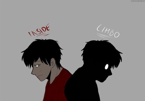 Inside kiddo and Limbo child (Art by aviscranio on Tumblr)