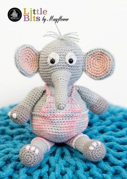 Elefanten Elton - Tøjdyr